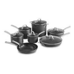 Kitchen Pots And Pans Martha Stewart Towels Cookware Store More Bed Bath Beyond Calphalon Classic Nonstick 14 Piece Set