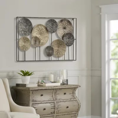 Art Metal Dandelions Wall Decor Bed Bath Beyond