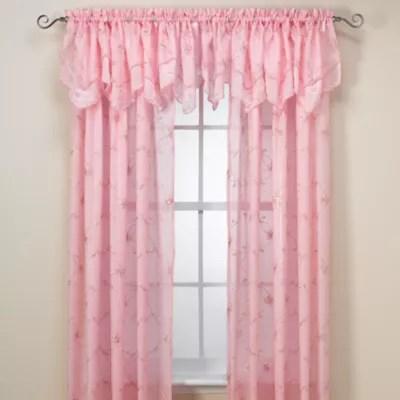 laya window curtain panel and valance
