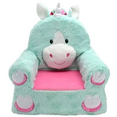 Soft Toddler Chairs Navy Living Room Chair Baby Kids Furniture Sets Step Stools And More Sweet Seats Unicorn In Teal