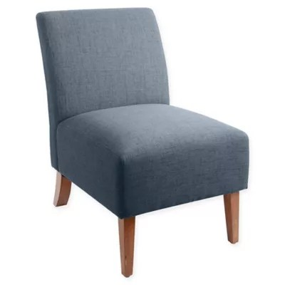 upholstered slipper chair wheelchair evaluation silverwood addison armless accent bed