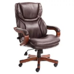 Serta Bonded Leather Executive Chair Folding Chairs For Outdoor Use Big And Tall Bed Bath Beyond