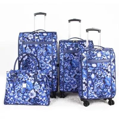 Isaac Mizrahi Lantana Luggage Collection  Bed Bath  Beyond