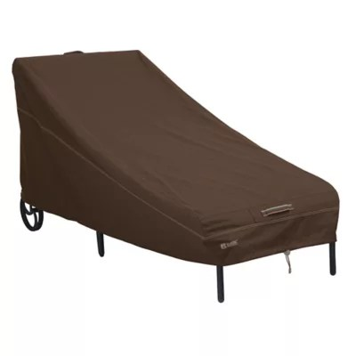 bed bath and beyond lounge chair cover rattan desk classic accessories madrona rainproof patio chaise in dark cocoa view a larger version of this product image