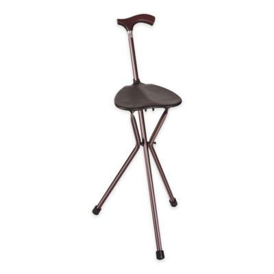 walking cane chair hire covers northern ireland 34 inch folding and seat bed bath beyond