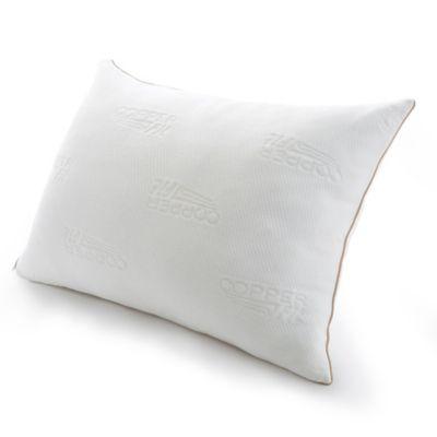 copper fit knit pillow