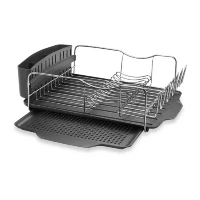 kitchen drying rack hood filters polder model kth 615 4 piece advantage dish system bed bath beyond