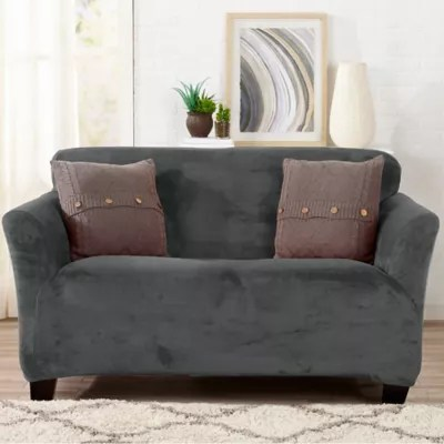 slipcovers for living room chair best chairs lower back pain furniture covers sofa recliner bed saver velvet strapless loveseat slipcover