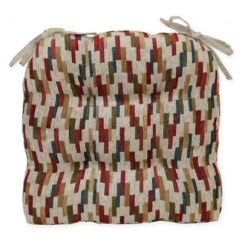 Brentwood Originals Chair Pads Gym Uk Mosaic Cushion In Harvest | Bed Bath & Beyond