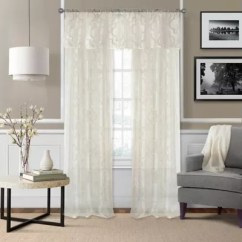 Curtains With Valance For Living Room Simple Wooden Designs Attached Bed Bath Beyond Montego Window Curtain Panel And