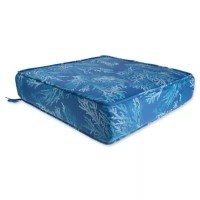 Buy Sea Coral Outdoor Deep Seat Chair Cushion in Cobalt