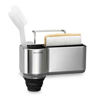 kitchen soap caddy bronze pendant lighting sponge holders sink caddies organizers bed bath beyond simplehuman