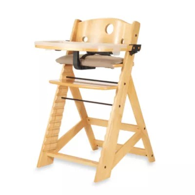 high chair that attaches to counter ergonomic desk chairs height buybuy baby keekaroo reg right with tray in natural
