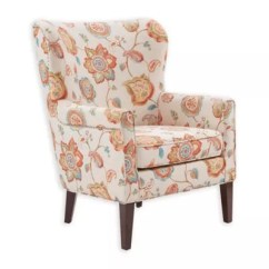 Queen Ann Chairs Bedroom Chair Bubble Anne Slip Covers Bed Bath Beyond Madison Park Colette Arm In Cream Floral Print