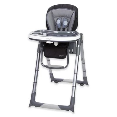 baby trend high chair recline cover rental baltimore muv convertible 6 in 1 custom dining grey bed