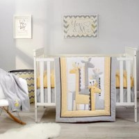 Crib Bedding Sets > Little Love by NoJo Giraffe Time 4 ...