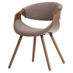 Upholstered Dining Chairs Canada Reclining Club Simpli Home Chair Bed Bath And Beyond In Mocha