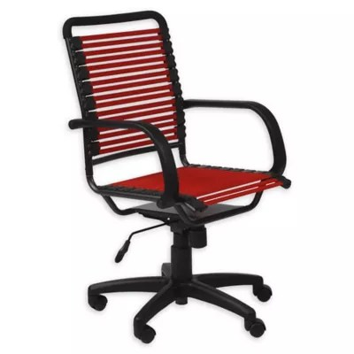 desk chair bed bath and beyond not on wheels bungee office euro style reg bungie