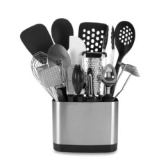 Kitchen Utensils Holder 2 Seat Table Cooking Holders Bed Bath And Beyond Canada Oxo Good Grips 15 Piece Tool Set