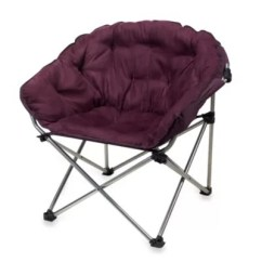 Folding Club Chair Bed Bath Beyond Spandex Covers China In Purple