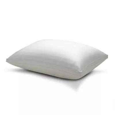 therapedic won t go flat memory foam side sleeper bed pillow