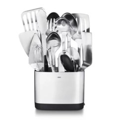 Kitchen Utensils Drop Leaf Island Oxo 15 Piece Stainless Steel Utensil Set Bed Bath And Beyond Canada