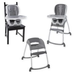 Ingenuity High Chair 3 In 1 Cover Akracing Gaming Trio Smartclean Slate Bed Bath