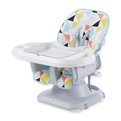 fisher price rainforest high chair recall recliner chairs uk buybuy baby spacesaver in white