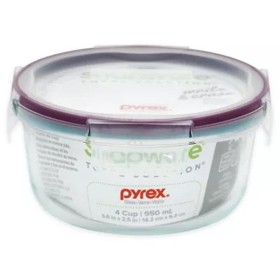 Buy Snapware Pyrex 4Cup Food Storage Container with Lid