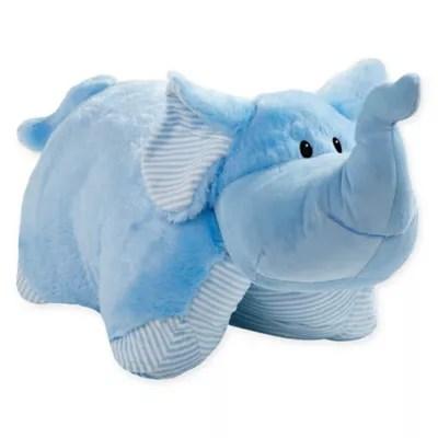 pillow pets my first elephant pillow pet in blue