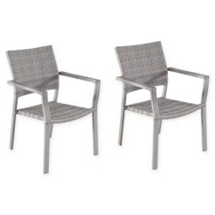 Outdoor Dining Chairs Sale Lift Chair Parts Square Stacking Wicker In Oyster Bed Bath