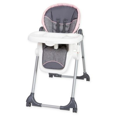 attachable high chair outdoor wedding rentals shop baby feeding seat booster inglesinaa fast table trend dine time 3 in 1 starlight pink