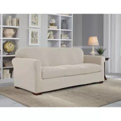 Sofa Covers Toronto Canada Bed Support Board Furniture Bath And Beyond Perfect Fit Neverwet Luxury 2 Piece Slipcover