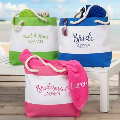 personalized tote bags monogrammed