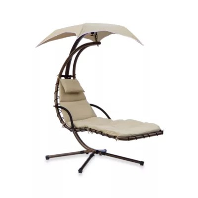 outdoor dream chair solid wood table and chairs swing in g chaise lounge bed bath beyond