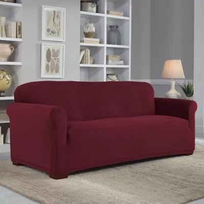 sofa covers toronto canada sectional for sale memphis furniture slipcover collections bed bath beyond perfect fit neverwet luxury collection
