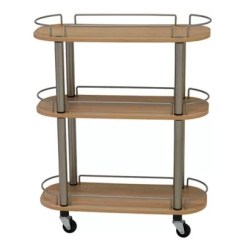 Kitchen Utility Carts Delta Single Handle Faucet Bed Bath And Beyond Canada Household Essentials 3 Shelf Cart