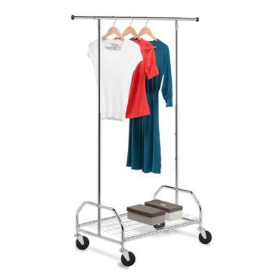 garment racks bed bath beyond