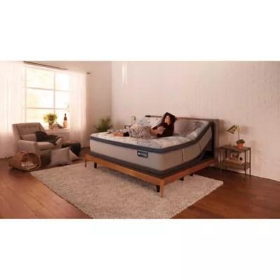 icomfort by serta blue fusion hybrid 300 plush pillowtop twin xl mattress