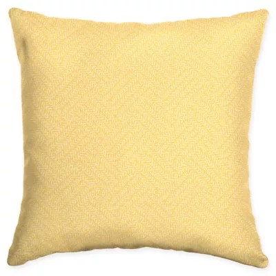 arden selections shirt texture square throw pillows in yellow set of 2