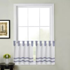 Kitchen Curtain Chairs On Casters Bath Curtains Bed And Beyond Canada Acadia Striped Window Tier Pair