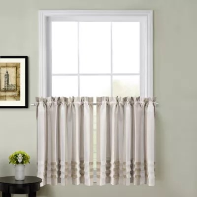 kitchen window coverings games for adults juliette curtain tier pair bed bath and beyond canada view a larger version of this product image