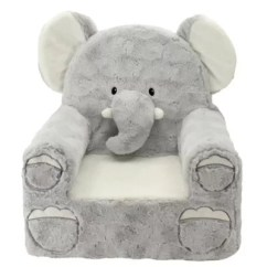 Plush Toddler Chairs And Tables For Rent Seating Buybuy Baby Sweet Seats Elephant Chair In Grey