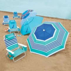 Nautica Beach Chairs Dining Room Chair Covers Target Umbrellas Lounge Bed Bath Beyond And Umbrella Collection