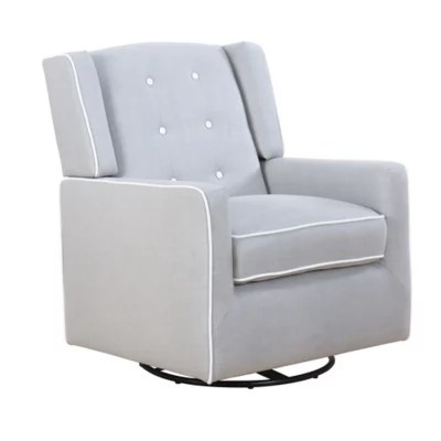 best chairs inc recliner reviews officeworks chair accessories gliders rockers recliners buybuy baby abbyson living ellie upholstered swivel glider in dove grey
