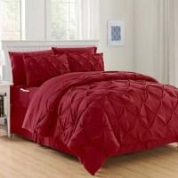 Buy Hi-Loft Luxury Pintuck 6-Piece Twin/Twin XL Comforter ...