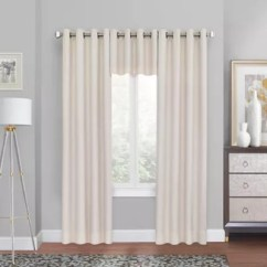 Window Curtains Living Room Modern Indian Interior Design Drapes Bed Bath Beyond Quinn Grommet Top Blackout Curtain Panel And Valance