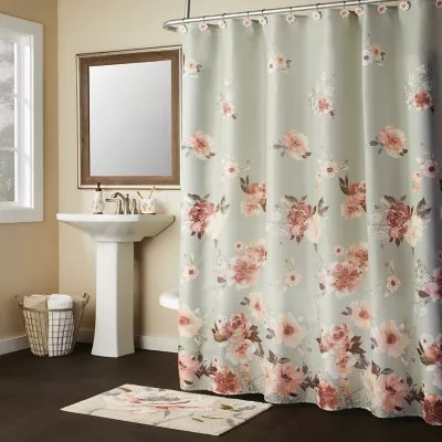 sage green shower curtain bed bath