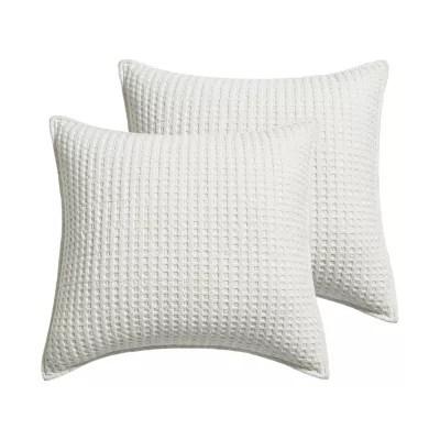white pillow shams bed bath beyond