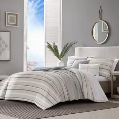 https www bedbathandbeyond com store product nautica woodbine 5 piece reversible comforter set in tan 5460852